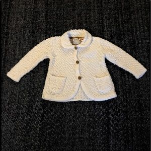 Zara cardigan sweater size 18-24m.